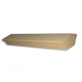 4.5 Inch Regency Wall Dry Cast Reconstituted Stone Coping Stone (110mm x 600mm) - UK Made