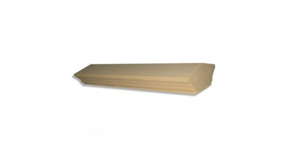 13 Inch Regency Dry Cast Reconstituted Wall Coping Stone