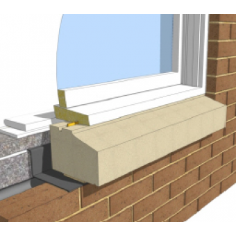 Two Brick Sill - without stools 200mm width window cill