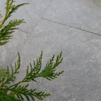 Aged Quartz Grey Porcelain External Paving Tiles