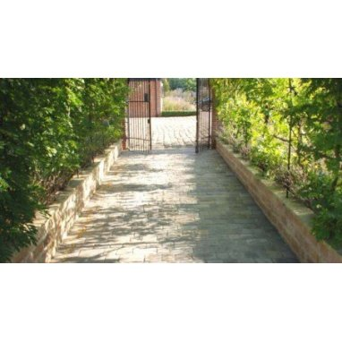 Strata Charcoal Natural Sandstone Drive Sett 13.46m2 Driveway Pack - £47.03 p/m2