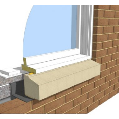 Two Brick Sill - without stools 150mm width window cill