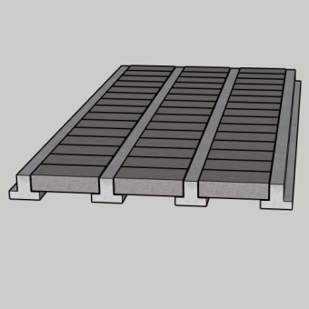 Concrete Beam and Block Floors from £14.30 p/m2 Beams Supply Only