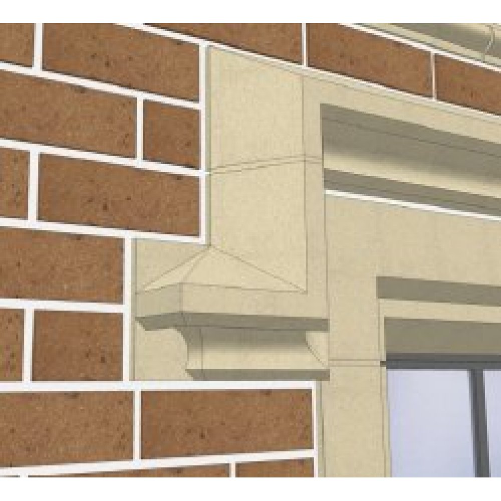 Cast Stone Window Hood Moulding Kobocrete