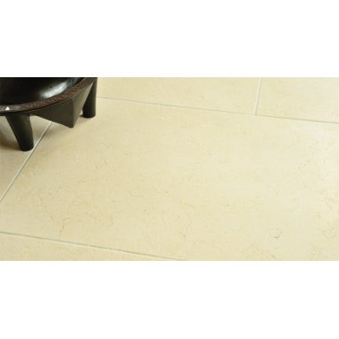 Strata Stone Crema G Internal Limestone 600mm by 400mm Satino Tile Slab Pack - 18m2