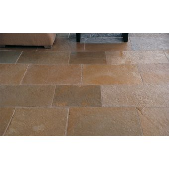 Strata Stone Tulliers Internal Limestone 560mm by 700mm Tumbled Tile Slab Pack - 15.68m2