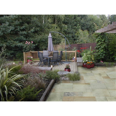 Strata Whitchurch Mint Sandstone Paving Slab 15.25m2 Patio Pack - £23 p/m2