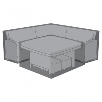 Weatherguard Cover for Nova Cambridge Deluxe Corner Dining Set