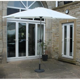 Parasol 3m Cream with Aluminium Frame