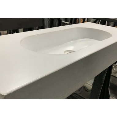 Bespoke Polished Concrete Sinks and Wash Basins