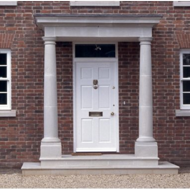Dry Cast Reconstituted Stone Portico - Example 1