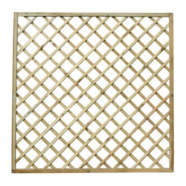 Continental Fence Panel - pressure treated trellis panel 1800mm x 1800mm
