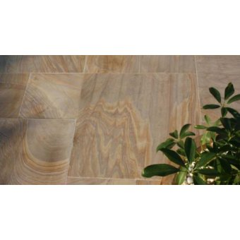 Strata Elegance Rufina Sandstone Mixed Sized Paving Slab 11.52m2 Patio Pack