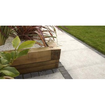 Strata Venetian Silver Mist Granite Paving Slab 11.52m2 Patio Pack - £36.09 p/m2