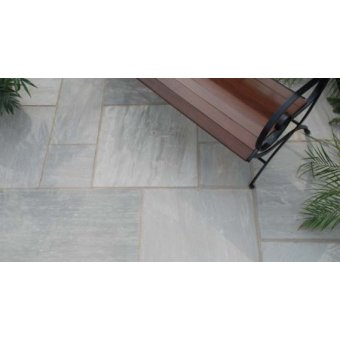 Strata Whitchurch Grey Sandstone Paving Slab 15.25m2 Patio Pack - £29.38 p/m2