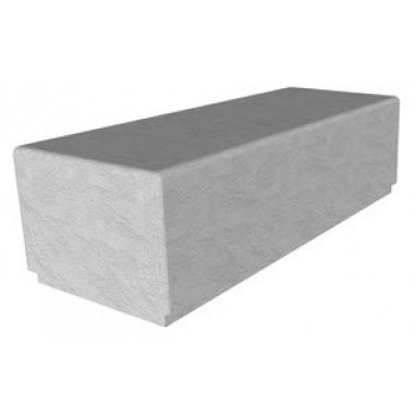 Bamburgh Concrete 1500 End Urban Street Seating - UK Made