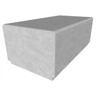 Bamburgh 1152mm Solo Concrete Bench
