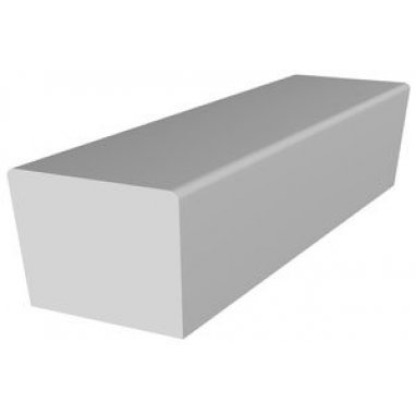 Beadnell Concrete Angled Twice Street Bench
