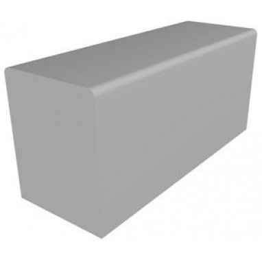 Blackett Concrete Urban Street Mid Section Bench