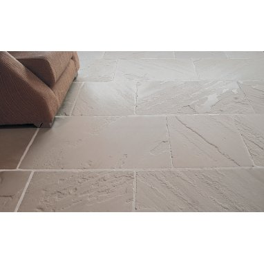 Strata Stone Blenheim Internal and External Limestone 500mm x Random Length Antique Tile Slab Pack - 16.25m2