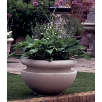 The Buckingham Stone Bowl Garden Planter