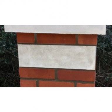 13 Inch, 330mm Cast Concrete Block String Course