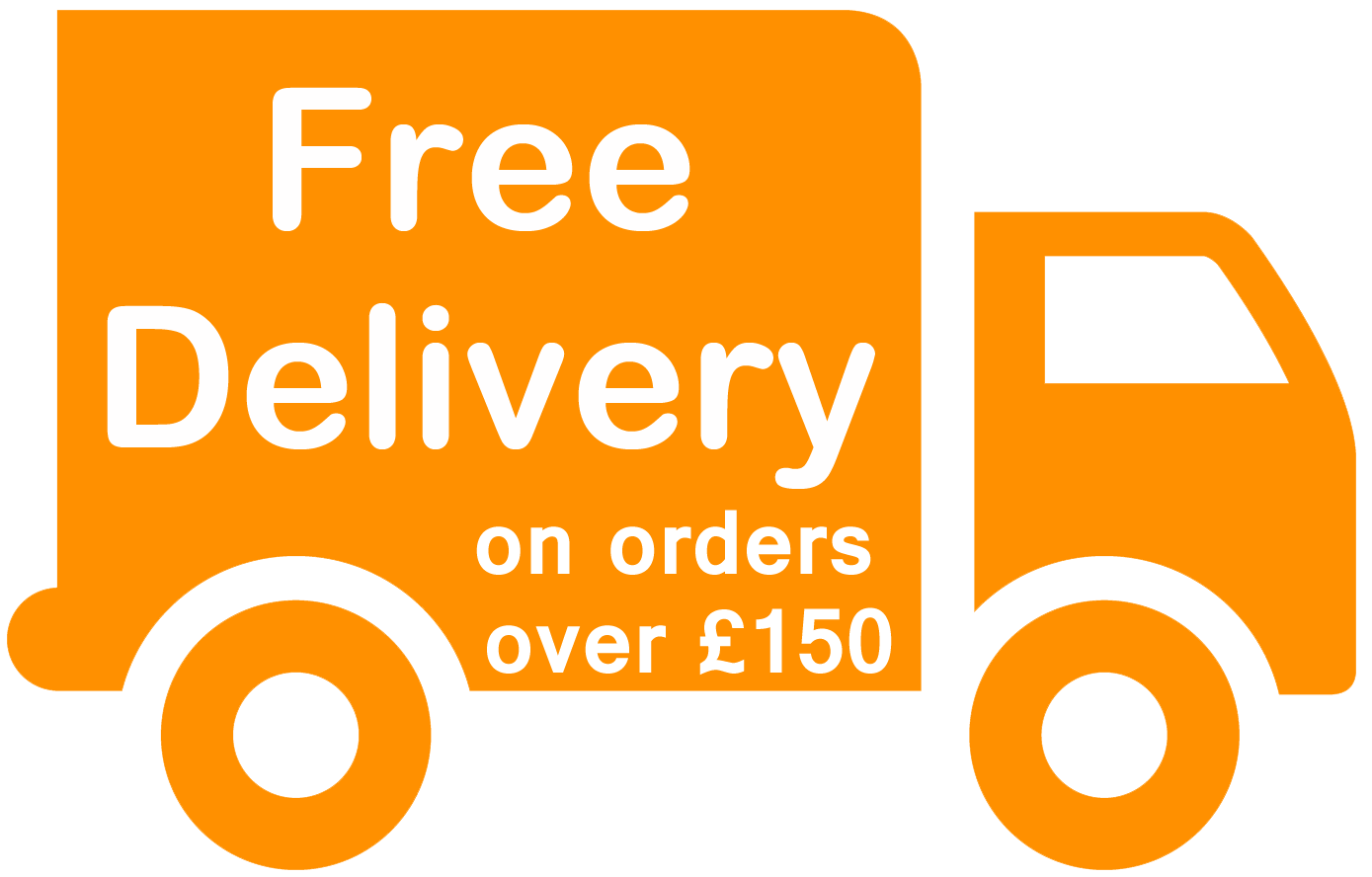 Free Shipping When You Spend Over £150
