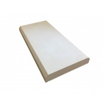 7 Inch Kingsbridge Dry Cast Flat Chamfered Coping Stone (170mm x 600mm) - UK Made