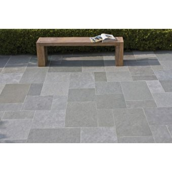 Strata Whitchurch Kotah Blue Limestone Paving Slab 15.25m2 Patio Pack - £23 p/m2