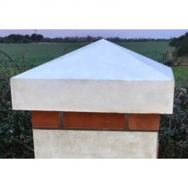 Monkston Stone 25 inch Pier Cap