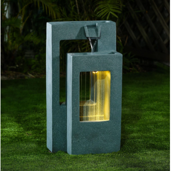 Nova - Jonah Garden Water Feature - Light Green