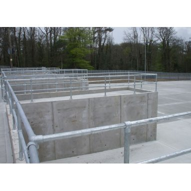 Prestressed Concrete Vertical Cantilever Wall Panels