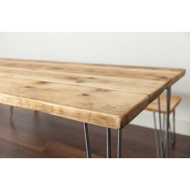 2000mm Industrial Rustic Dining Table