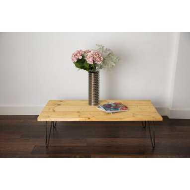 1200mm Scaffold Board Coffee Table