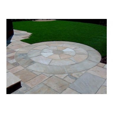 Strata Stones - Circle Collection - Classic - Mint Circles