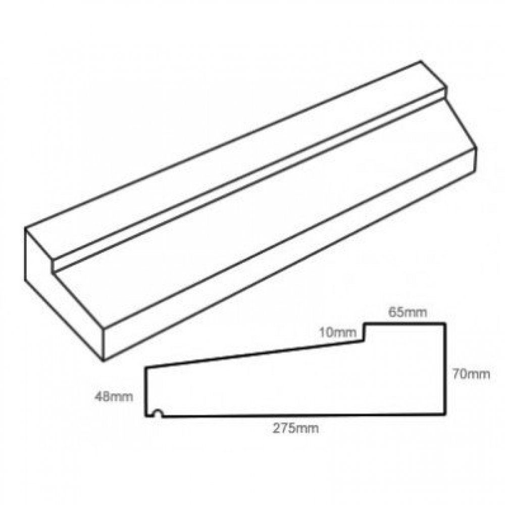 type 4 stone slip window sill 70